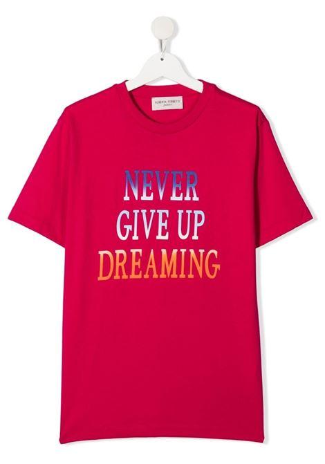 T-shirt fucsia ALBERTA FERRETTI KIDS | T-SHIRT | 027809T044