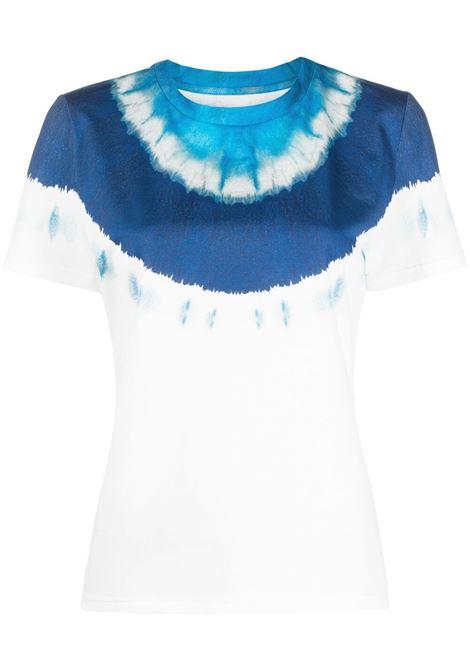T-shirt bianca/blu/ azzurro ALBERTA FERRETTI | T-SHIRT | J07021831342