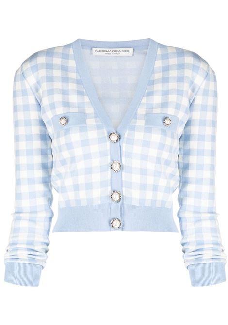 Light blue cardigan ALESSANDRA RICH |  | FAB2435K321427157