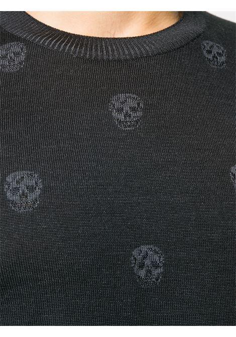 Pullover nero ALEXANDER McQUEEN | PULLOVER | 603247Q1ALQ1053