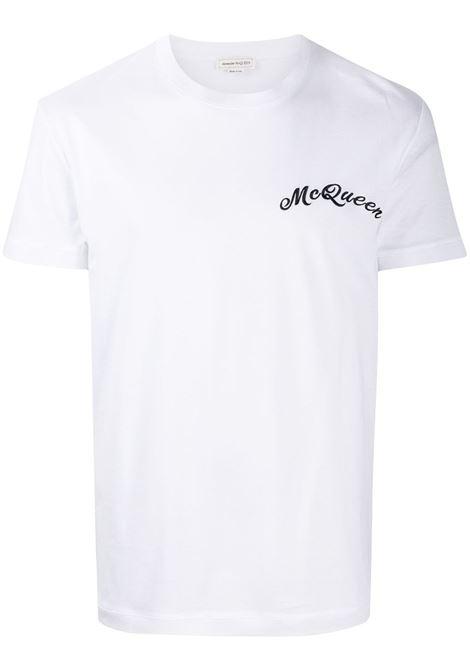 White t-shirt ALEXANDER McQUEEN | 624180QQX019000
