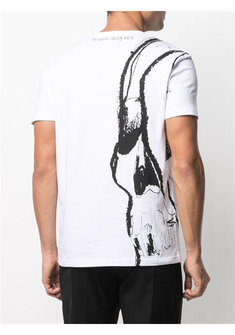 White t-shirt ALEXANDER McQUEEN | 631406QPZ830900