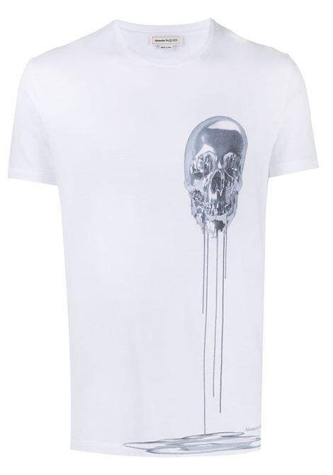 White t-shirt ALEXANDER McQUEEN | 632397QPZ860900