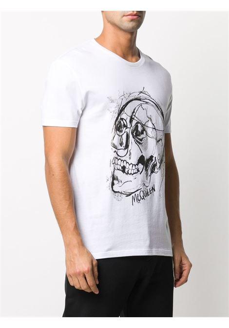 White t-shirt ALEXANDER McQUEEN | 635632QPZ950900