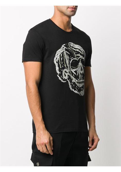 Black t-shirt ALEXANDER McQUEEN | 635637QPZ960901