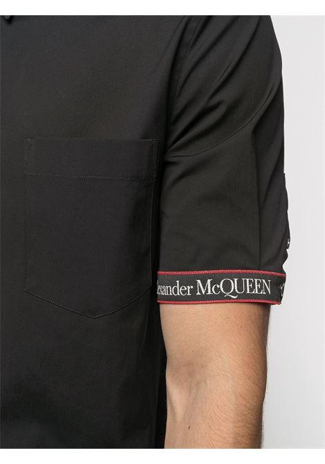 Camicia nera ALEXANDER McQUEEN | CAMICIE | 642400QQN441000
