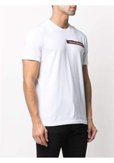 T-shirt bianca ALEXANDER McQUEEN | T-SHIRT | 642662QQX749000