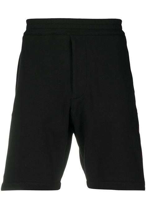 Shorts nero ALEXANDER McQUEEN | PANTALONI | 642668QQX751000