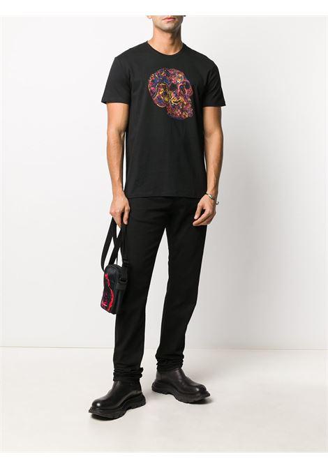 Black t-shirt ALEXANDER McQUEEN | 649873QQZ530901