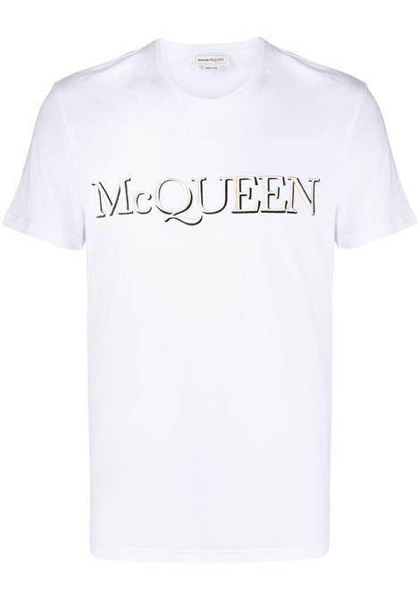 White t-shirt ALEXANDER McQUEEN | 649876QQZ560900