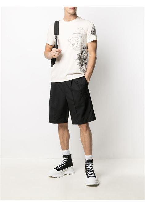T-shirt bianca ALEXANDER McQUEEN | T-SHIRT | 650402QQZ590906
