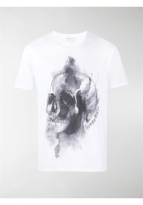 White t-shirt ALEXANDER McQUEEN | 650403QQZ600900