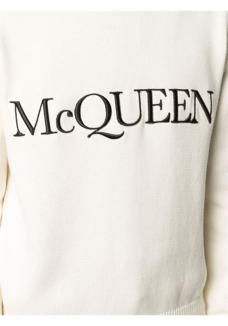 Pullover bianco ALEXANDER McQUEEN | PULLOVER | 651184Q1XAY9241