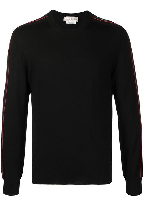Pullover nero ALEXANDER McQUEEN | PULLOVER | 651188Q1XBB1099