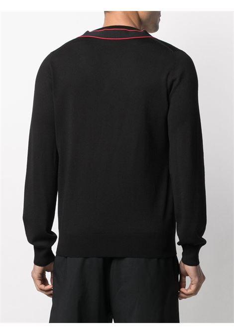 Pullover nero ALEXANDER McQUEEN | PULLOVER | 651189Q1XBB1099
