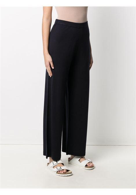 Pantalone nero ALLUDE | PANTALONI | 21264003414