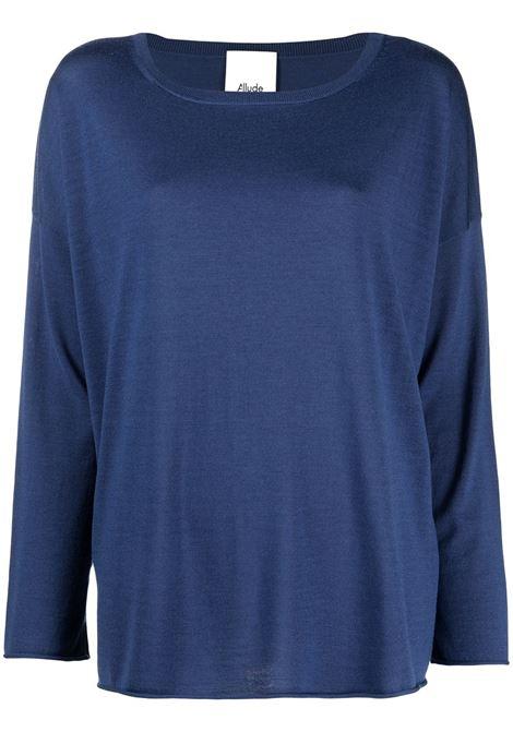 Maglione blu ALLUDE | MAGLIONE | 21264032415