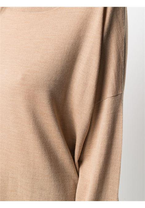 Maglione beige ALLUDE | MAGLIONE | 21264032445