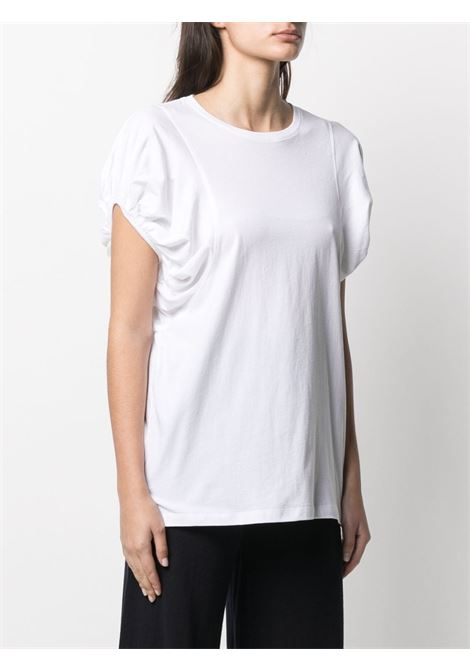 T-shirt bianca ALLUDE | T-SHIRT | 2128000040