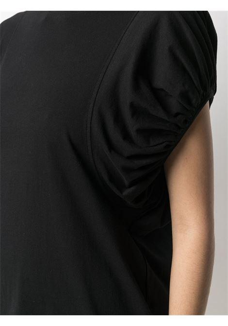 T-shirt nera ALLUDE | T-SHIRT | 2128000090