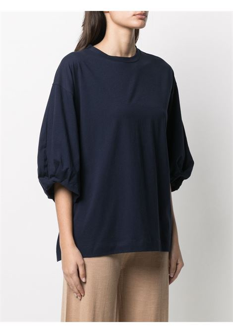 T-shirt blu ALLUDE | MAGLIE | 2128000114