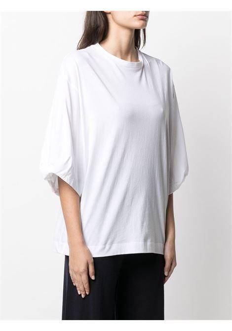 T-shirt bianca ALLUDE | T-SHIRT | 2128000140