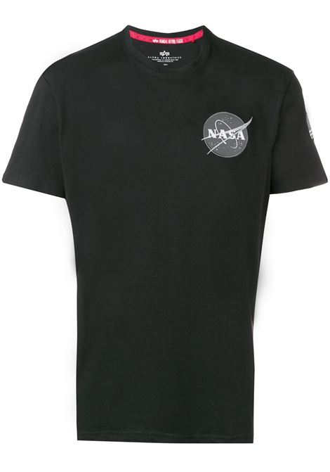 Black t-shirt ALPHA INDUSTRIES | T-SHIRT | 17650703