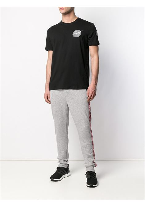 T-shirt nera ALPHA INDUSTRIES | T-SHIRT | 17650703