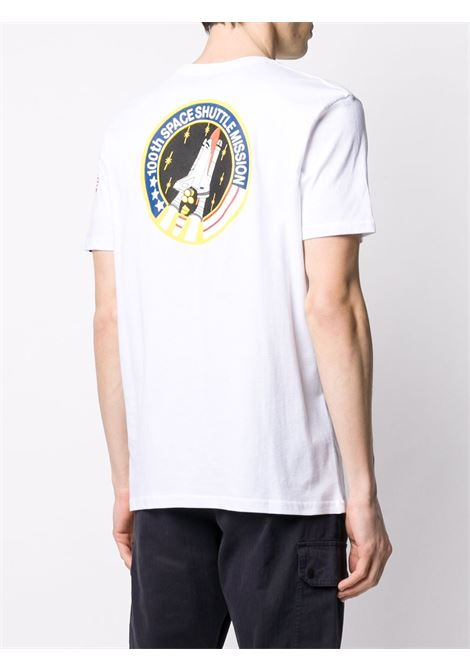 T-shirt bianca ALPHA INDUSTRIES | T-SHIRT | 17650709