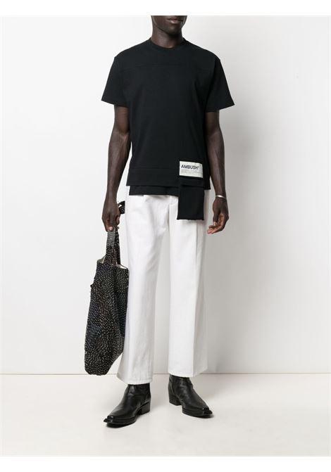 Black t-shirt AMBUSH |  | BMAA004S21JER0011004