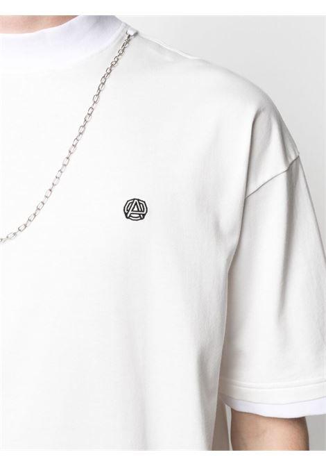Maglia bianca AMBUSH | MAGLIE | BMAA010S21JER0010110