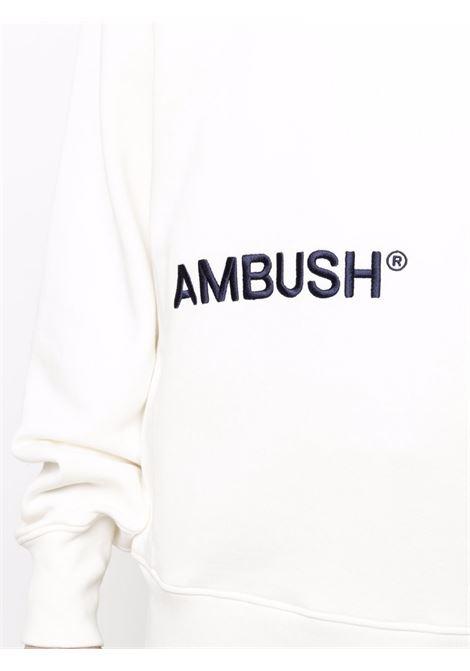 Felpa bianca AMBUSH | FELPE | BMBA005S21FLE0010346