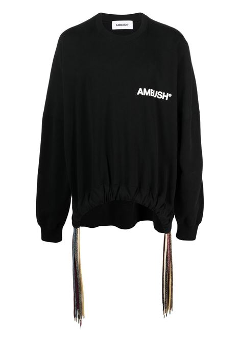 Black sweatshirt AMBUSH |  | BMBA007S21FLE0011004