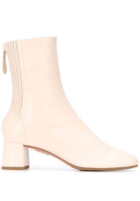 Cream boots AQUAZZURA | SHOMIDB0NAPCRM
