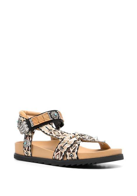Sandals  ASH |  | S21UGO05BLKCARAMEL