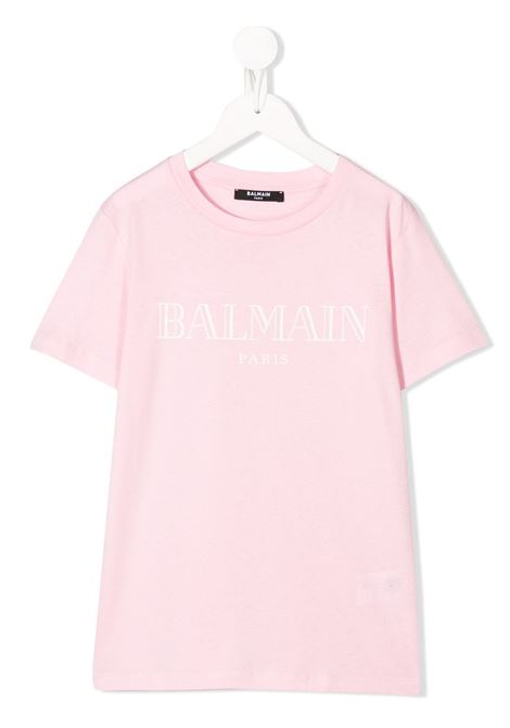 Pink t-shirt BALMAIN KIDS | T-SHIRT | 6M8721MX030506