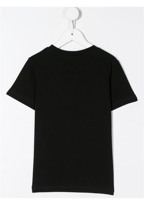 T-shirt nero BALMAIN KIDS | T-SHIRT | 6M8721MX030930