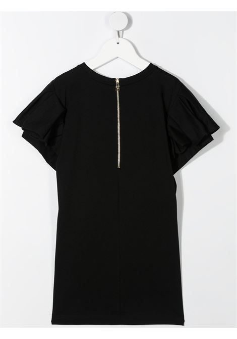 Black dress BALMAIN KIDS | DRESS | 6O1211OB690930