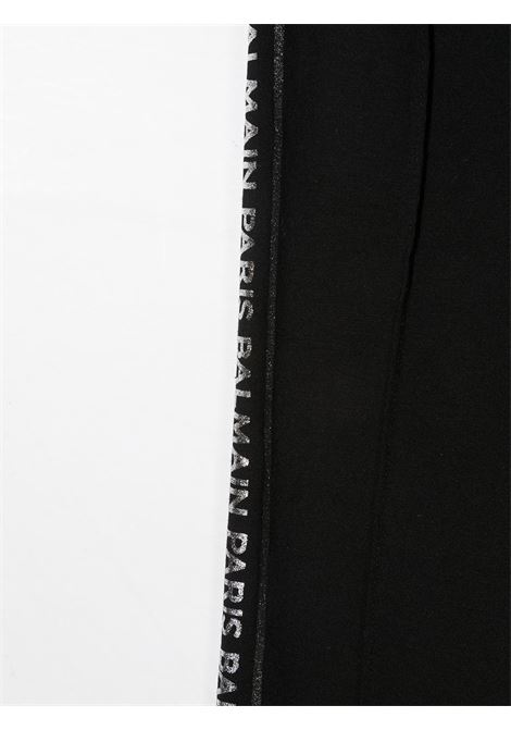 Leggings nero BALMAIN KIDS | LEGGINGS | 6O6150OB690930OR