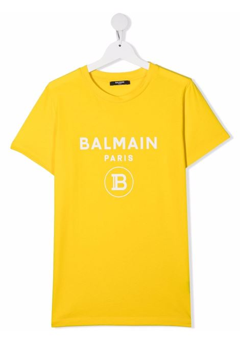 Yellow t-shirt BALMAIN KIDS | T-SHIRT | 6O8651TOX390201