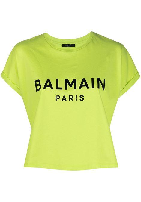 Green t-shirt BALMAIN |  | VF0EE005B035IAU