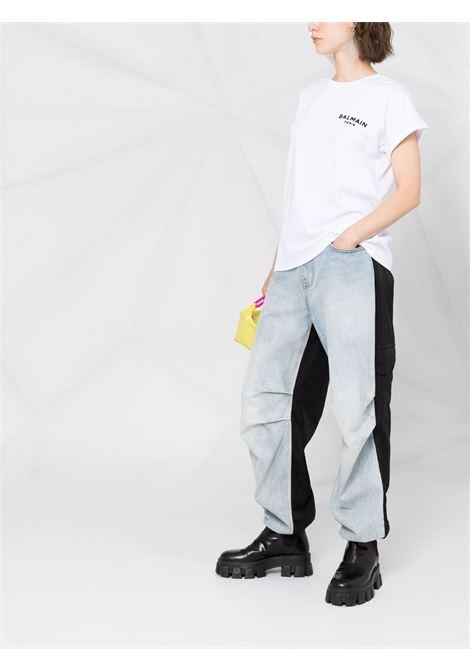 White t-shrit BALMAIN | T-SHIRT | VF0EF010B013GAB