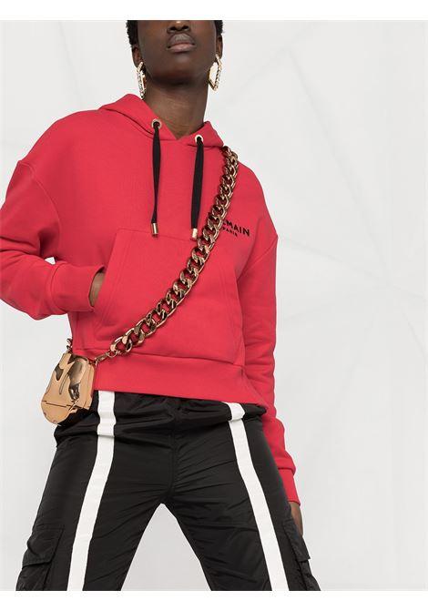 Red sweatshirt BALMAIN |  | VF0JP000B013OBX