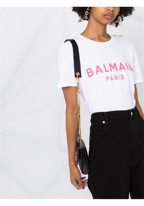 White t-shirt BALMAIN |  | VF11350B001GBY