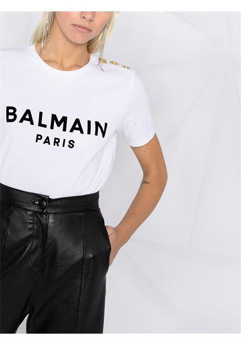 White t-shirt BALMAIN |  | VF11350B012GAB