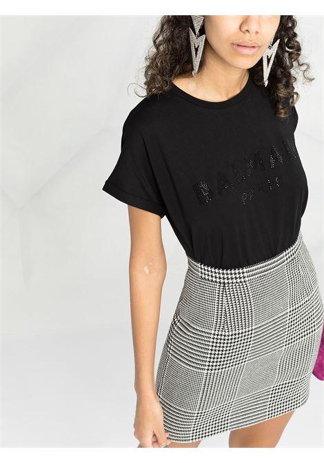 T-shirt nera BALMAIN | T-SHIRT | VF11351B011EAP