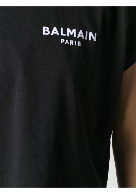 Black t-shirt BALMAIN |  | VF11370B013EAB