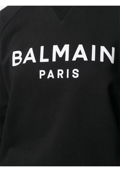 Black sweatshirt BALMAIN |  | VF13691B002EAB