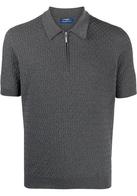 Grey Polo shirt BARBA | 20676575650098