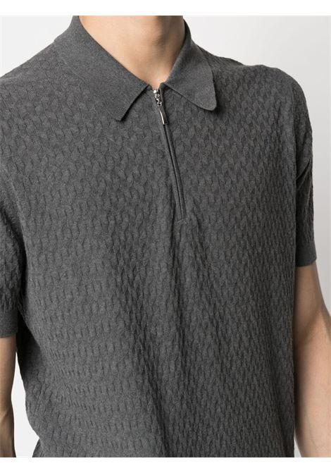Grey Polo shirt BARBA | POLO | 20676575650098